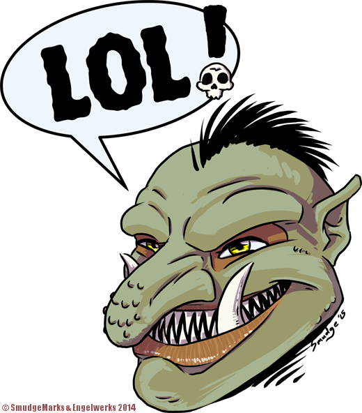 Laughing Troll