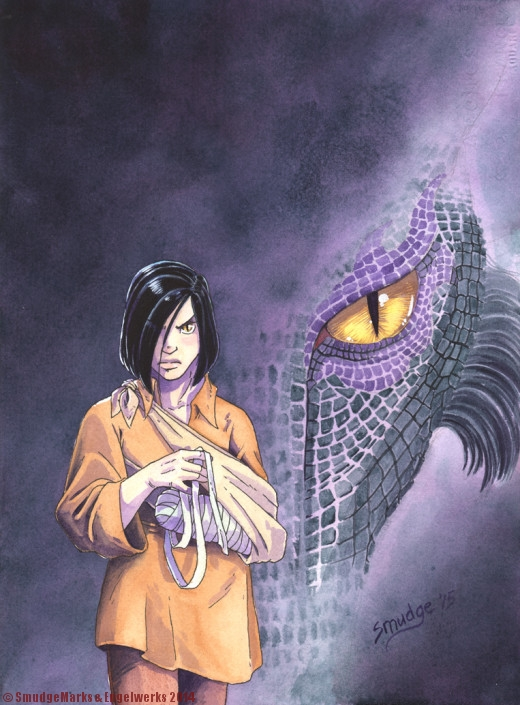 To Kill a Dragon GN Cover