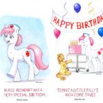 Maddie's Birthday Card